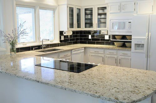 black and white kitchen cabinet remodel