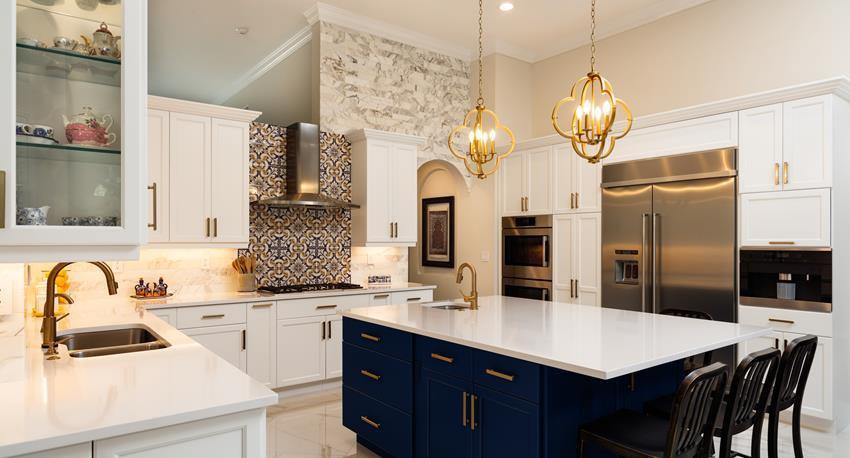 modern classic kitchen remodel